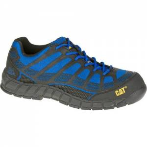 CAT Streamline Composite Toe Work Shoe - Men - Black / Blue