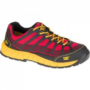 CAT Streamline Composite Toe Work Shoe - Men - Red / Black