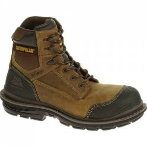 "CAT Fabricate 6"" Tough Composite Toe Work Boot - Men - Brown"