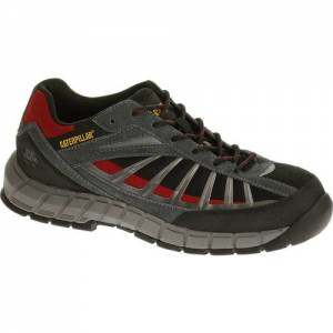 CAT Infrastructure Steel Toe Work Shoe - Men - Black