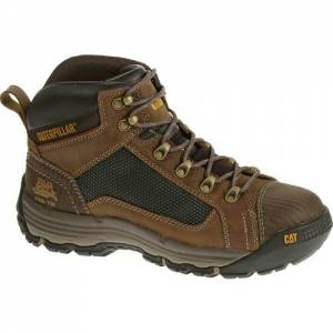 CAT Convex Mid Steel Toe Work Boot - Men - Dark Beige