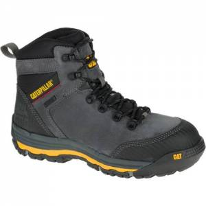 "CAT Munising 6"" Waterproof Composite Toe Work Boot - Men - Dark Shadow"