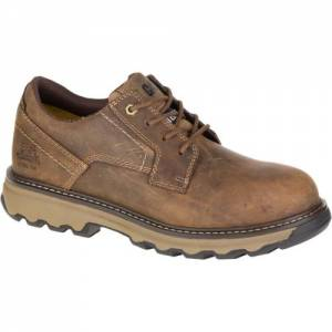 CAT Tyndall Steel Toe Work Shoe - Men - Dark Beige