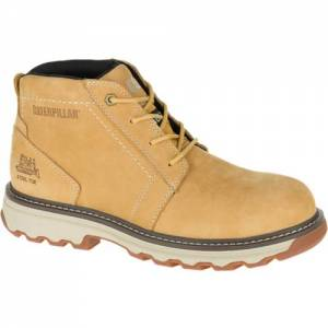 CAT Parker Steel Toe Work Boot - Men - Honey Reset