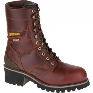 CAT Clearcut Waterproof Steel Toe Work Boot - Men - Gingerbread