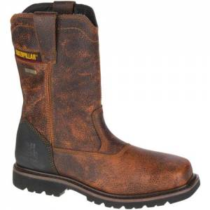 CAT Canyon Pull On Waterproof Steel Toe Work Boot - Men - Bento