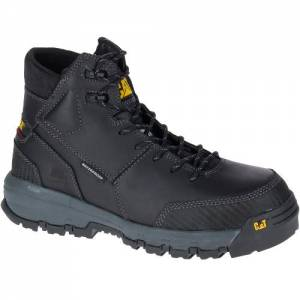 CAT Device Waterproof Composite Toe Work Boot - Men - Black