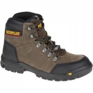 CAT Outline Steel Toe Work Boot - Men - Dark Gull Grey