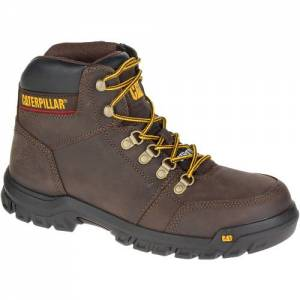CAT Outline Steel Toe Work Boot - Men - Seal Brown