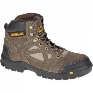 CAT Plan Steel Toe Work Boot - Men - Worn Brown