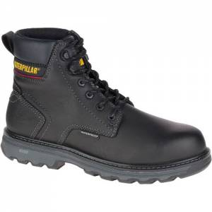 CAT Precision Waterproof Composite Toe Work Boot - Men - Black