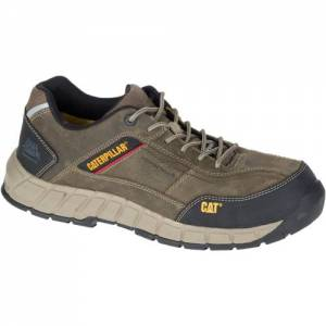 CAT Streamline Leather Composite Toe Work Shoe - Men - Grey