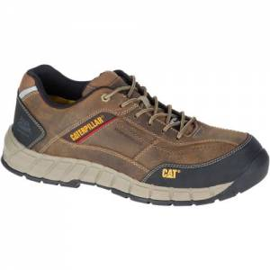CAT Streamline Leather Composite Toe Work Shoe - Men - Brown