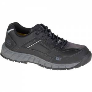 CAT Streamline Leather Composite Toe Work Shoe - Men - Black