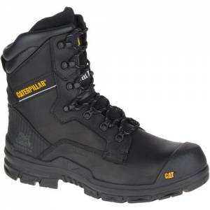CAT Scaffold Waterproof Composite Toe Work Boot - Men - Black