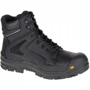 CAT Chassis Waterproof Composite Toe Work Boot - Men - Black
