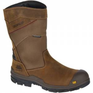 CAT Differential Waterproof Composite Toe Work Boot - Men - Dark Brown