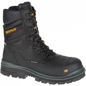 CAT Thermostatic Ice+ Waterproof TX Composite Toe Work Boot - Men - Black