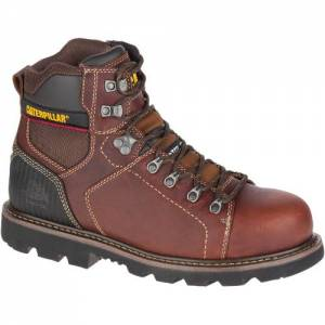 CAT Alaska 2.0 Steel Toe Work Boot - Men - Brown