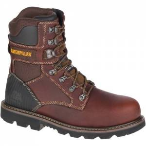 CAT Indiana 2.0 Steel Toe Work Boot - Men - Brown