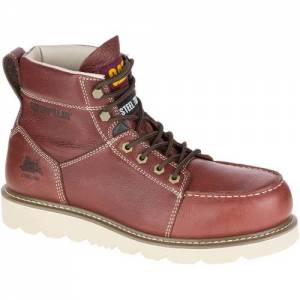 CAT Tradesman Steel Toe Work Boot - Men - Rust