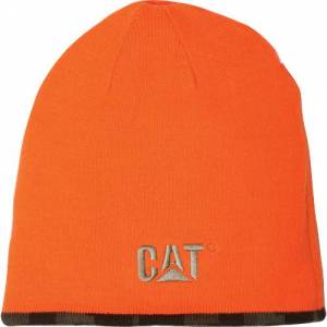 CAT REVERSIBLE LOGO CAP - Men - Hi Vis Orange
