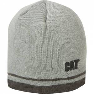 CAT INSULATED STRIPE KNIT CAP - Men - Grey