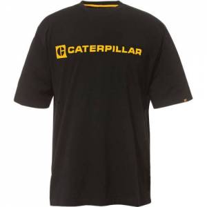 CAT C BLOCK TEE - Men - Black