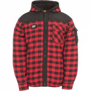 CAT SEQUOIA SHIRT JACKET - Men - Red Buffalo Plaid