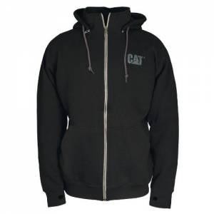 CAT BASIN ZIP SWEATSHIRT - Men - Black