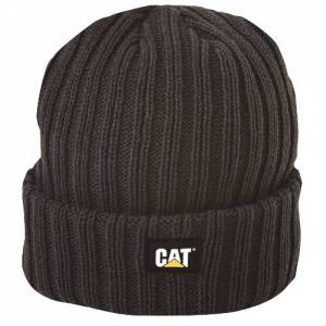 CAT RIB WATCH CAP - Men - Black