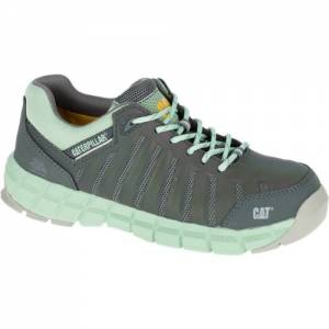CAT Chromatic Composite Toe Work Shoe - Women - Cameo Green