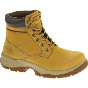 "CAT Dryverse 6"" Waterproof Steel Toe Work Boot - Women - Honey"