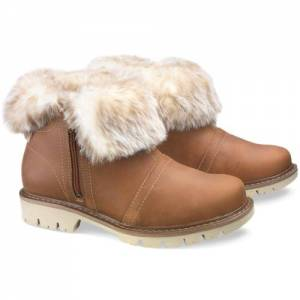 CAT Flurry Fur Waterproof Boot - Women - Beige