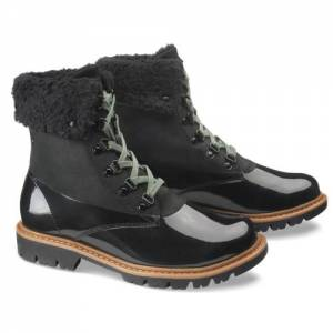 CAT Hub Hiker Fur Boot - Women - Black