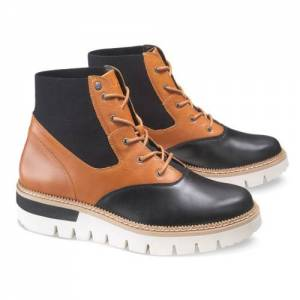 CAT Knockout Boot - Women - Black / Brown