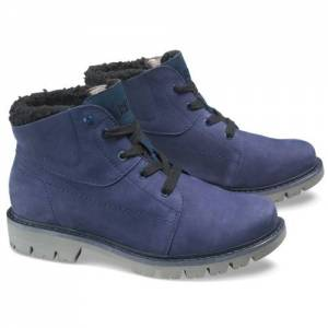 CAT Fret Fur Waterproof Boot - Women - Blue