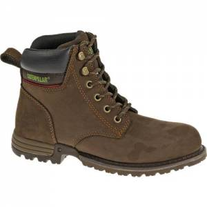 CAT Freedom Steel Toe Work Boot - Women - Chocolate