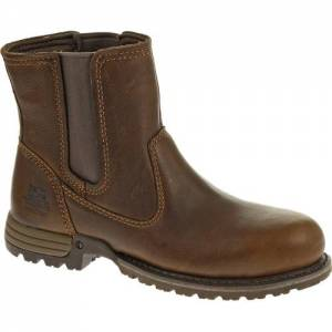 CAT Freedom Pull On Steel Toe Work Boot - Women - Oak