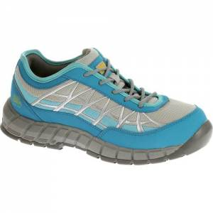 CAT Connexion Steel Toe Work Shoe - Women - Blue / Grey