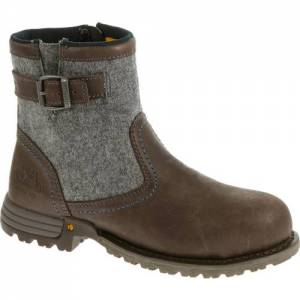CAT Jace Steel Toe Work Boot - Women - Mulch
