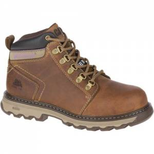 CAT Ellie Steel Toe Work Boot - Women - Dark Beige