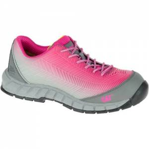 CAT Array Composite Toe Work Shoe - Women - Fushia / Silver