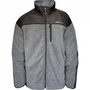 CAT Momentum Fleece Jacket - Men - Dark Heather Grey