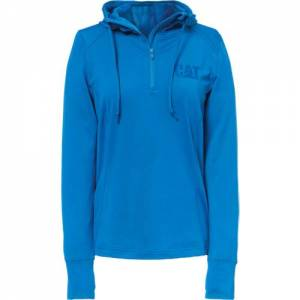 CAT Contour Hoodie - Women - Bright Blue