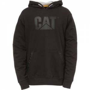 CAT LIGHTWEIGHT TECH Hooded SWEATSHIRT - Men - Black