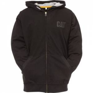 CAT LIGHTWEIGHT TECH FULL ZIP SWEATSHIRT - Men - Black