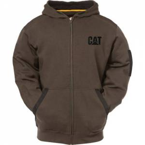 CAT LIGHTWEIGHT TECH FULL ZIP SWEATSHIRT - Men - Army Moss