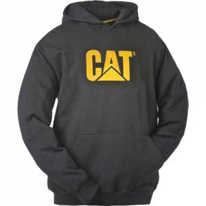 CAT Trademark Hooded Sweatshirt - Men - Black