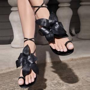 "Giuseppe Zanotti Women's Flat Sandals ""Lilium"""